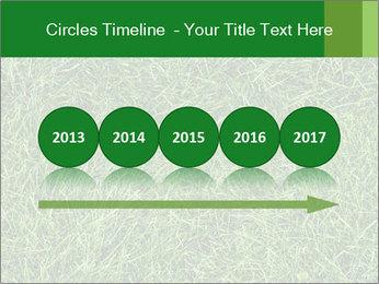Gree Grass Texture PowerPoint Template - Slide 29