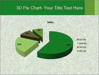 Gree Grass Texture PowerPoint Template - Slide 35