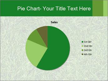 Gree Grass Texture PowerPoint Template - Slide 36
