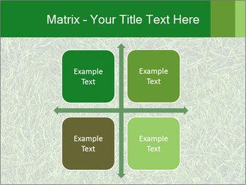 Gree Grass Texture PowerPoint Template - Slide 37
