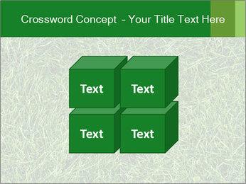 Gree Grass Texture PowerPoint Template - Slide 39
