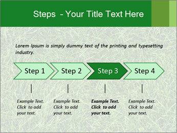Gree Grass Texture PowerPoint Template - Slide 4