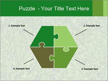 Gree Grass Texture PowerPoint Template - Slide 40