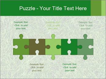 Gree Grass Texture PowerPoint Template - Slide 41