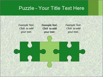 Gree Grass Texture PowerPoint Template - Slide 42