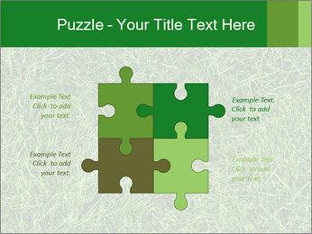 Gree Grass Texture PowerPoint Template - Slide 43