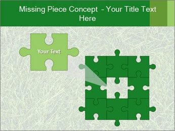 Gree Grass Texture PowerPoint Template - Slide 45