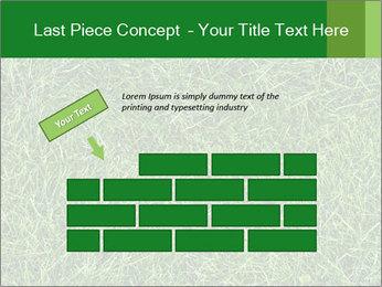 Gree Grass Texture PowerPoint Template - Slide 46