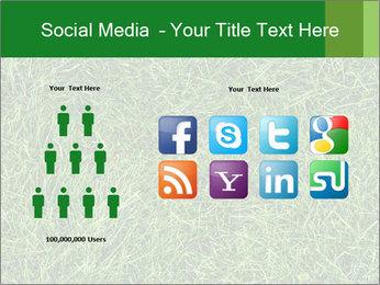 Gree Grass Texture PowerPoint Template - Slide 5