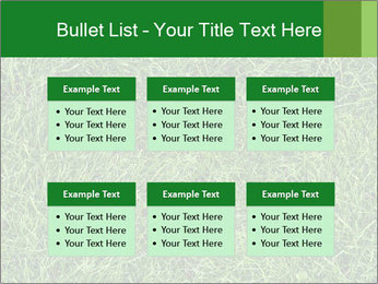 Gree Grass Texture PowerPoint Template - Slide 56