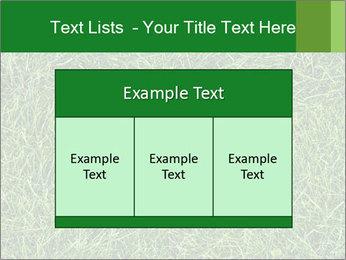 Gree Grass Texture PowerPoint Template - Slide 59