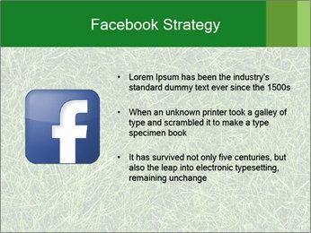Gree Grass Texture PowerPoint Template - Slide 6