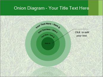Gree Grass Texture PowerPoint Template - Slide 61