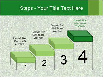 Gree Grass Texture PowerPoint Template - Slide 64