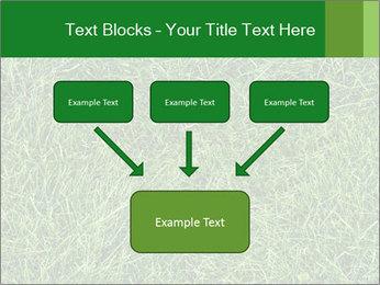 Gree Grass Texture PowerPoint Template - Slide 70