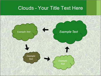 Gree Grass Texture PowerPoint Template - Slide 72