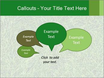 Gree Grass Texture PowerPoint Template - Slide 73