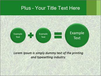 Gree Grass Texture PowerPoint Template - Slide 75