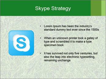 Gree Grass Texture PowerPoint Template - Slide 8