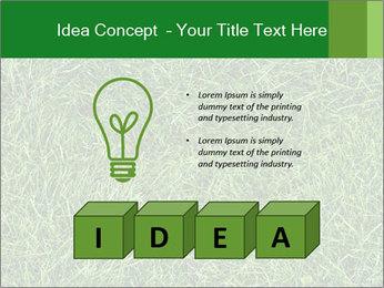 Gree Grass Texture PowerPoint Template - Slide 80