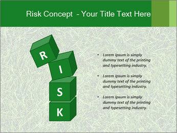 Gree Grass Texture PowerPoint Template - Slide 81