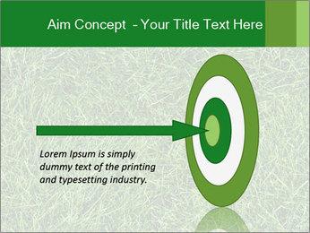 Gree Grass Texture PowerPoint Template - Slide 83