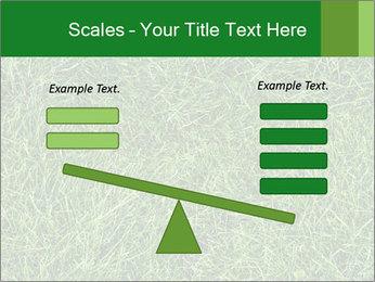 Gree Grass Texture PowerPoint Template - Slide 89