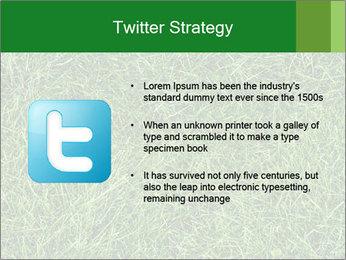 Gree Grass Texture PowerPoint Template - Slide 9