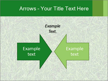 Gree Grass Texture PowerPoint Template - Slide 90