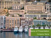 Monaco City PowerPoint Template