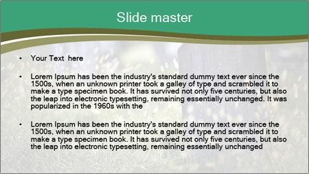 Old Graveyard PowerPoint Template - Slide 2