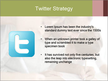 Lesson At Business School PowerPoint Template - Slide 9