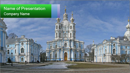 Russian Architecture PowerPoint Template