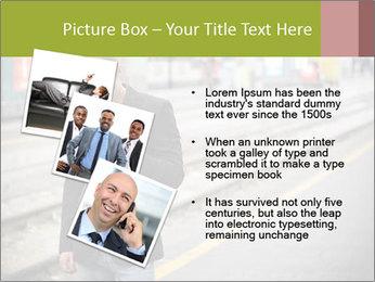 Man Checking Cellphone PowerPoint Template - Slide 17