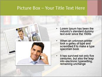 Man Checking Cellphone PowerPoint Template - Slide 20