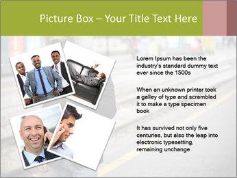 Man Checking Cellphone PowerPoint Template - Slide 23