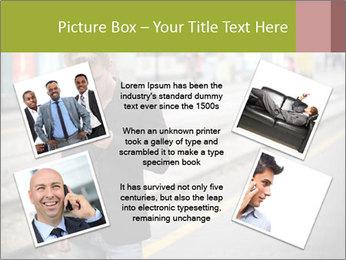 Man Checking Cellphone PowerPoint Template - Slide 24