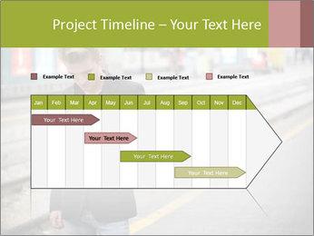 Man Checking Cellphone PowerPoint Template - Slide 25