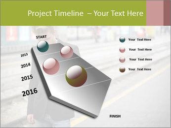 Man Checking Cellphone PowerPoint Template - Slide 26