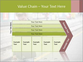 Man Checking Cellphone PowerPoint Template - Slide 27