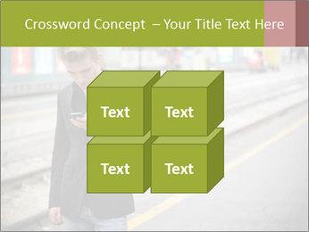Man Checking Cellphone PowerPoint Template - Slide 39