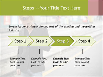 Man Checking Cellphone PowerPoint Template - Slide 4