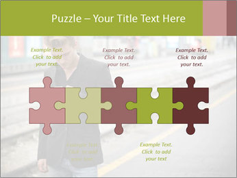 Man Checking Cellphone PowerPoint Template - Slide 41