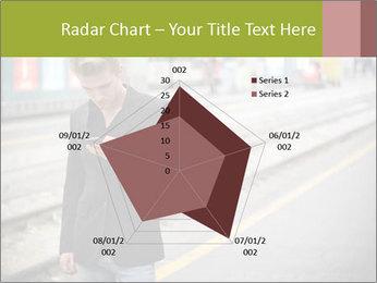 Man Checking Cellphone PowerPoint Template - Slide 51
