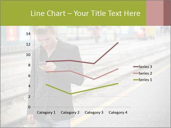 Man Checking Cellphone PowerPoint Template - Slide 54
