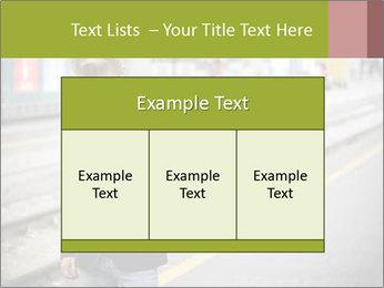 Man Checking Cellphone PowerPoint Template - Slide 59