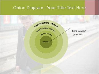 Man Checking Cellphone PowerPoint Template - Slide 61