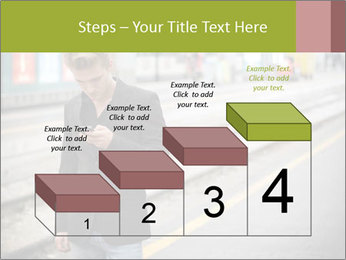 Man Checking Cellphone PowerPoint Template - Slide 64