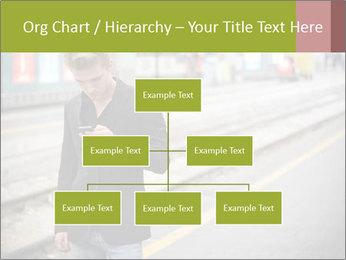 Man Checking Cellphone PowerPoint Template - Slide 66