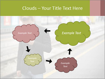 Man Checking Cellphone PowerPoint Template - Slide 72